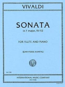 Sonata in F major RV 52 - F. 15 n°4 - Flûte piano VIVALDI laflutedepan