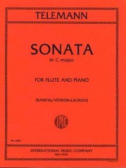 Sonata in C major - Flute piano TELEMANN Partition laflutedepan