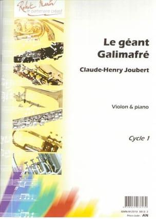 Le Géant Galimafré Claude-Henry Joubert Partition laflutedepan