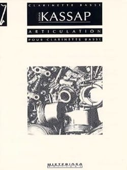 Articulation - Sylvain Kassap - Partition - laflutedepan.com