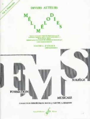 Mélimélodies - Volume 4 - Jean-Clément Jollet - laflutedepan.com