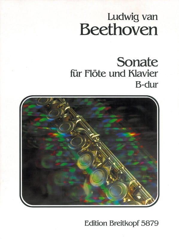 Sonate B-Dur - Flöte Klavier - BEETHOVEN - laflutedepan.com