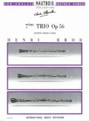 Trio Opus 56 - Henri Brod - Partition - Trios - laflutedepan.com