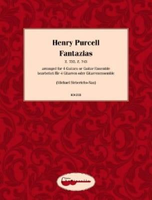 Fantazias - PURCELL - Partition - Guitare - laflutedepan.com