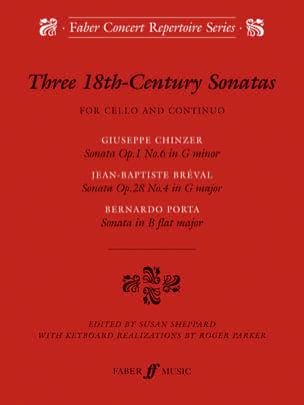 Three 18ème Century Sonatas Partition Violoncelle - laflutedepan