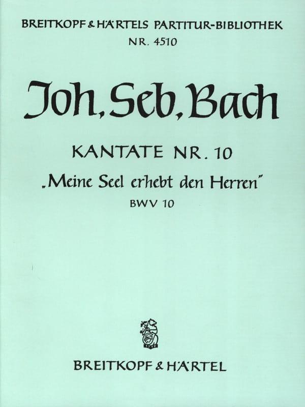 Kantate 10 Meine Seel Erhebt Den Herren - Conducteur - laflutedepan.com