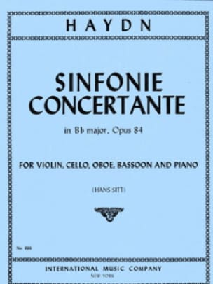 Sinfonie concertante Bb major op. 84 - HAYDN - laflutedepan.com