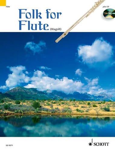 Folk for Flute - Marianne Magolt - Partition - laflutedepan.com