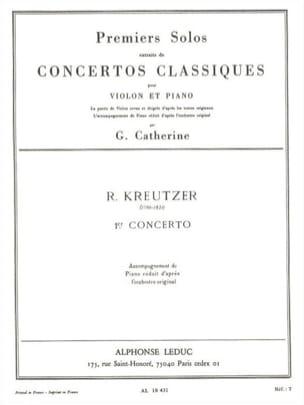 1er Solo du Concerto n° 1 Catherine laflutedepan