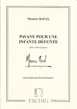 Pavane pour une Infante défunte RAVEL Partition Violon - laflutedepan