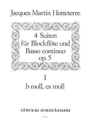 4 Suiten op. 5 - Bd. 2 n° 1-2 - Blockflöte u. Bc laflutedepan