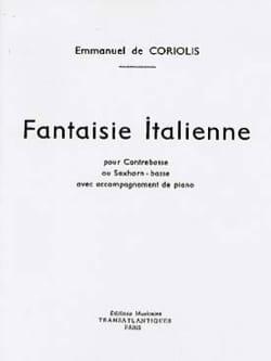Fantaisie Italienne Coriolis Emmanuel De Partition laflutedepan
