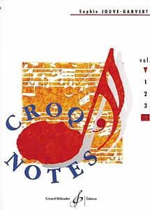 Croq' Notes - Volume 4 Sophie Jouve-Ganvert Partition laflutedepan