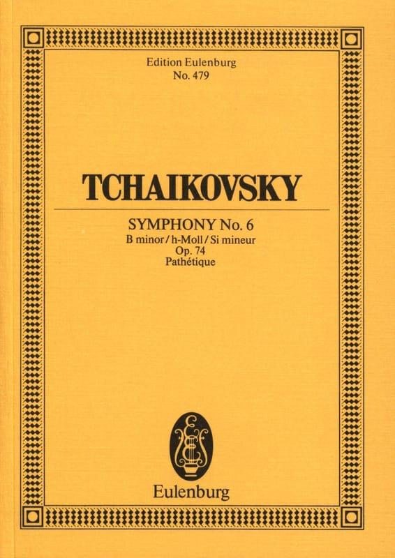 Symphonie N° 6 h-moll op. 74 Pathétique - Partitur - laflutedepan.com