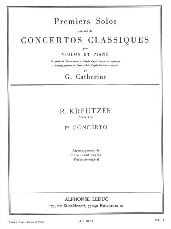 1er Solo du Concerto n° 1 Catherine - laflutedepan.com