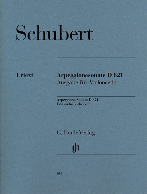 Sonate pour piano et arpeggione en la mineur D 821 - laflutedepan.com