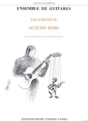 Autumn Song - 4 Guitares - Erik Marchelie - laflutedepan.com