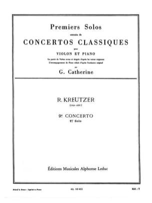 1er Solo du Concerto n° 9 Catherine laflutedepan