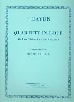 Quartett C-Dur -Flöte Violine Viola Violoncello - laflutedepan.com
