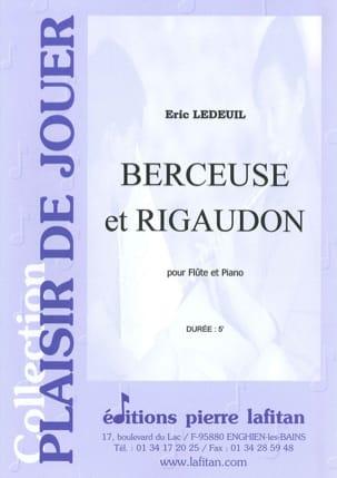 Berceuse et Rigaudon Eric Ledeuil Partition laflutedepan