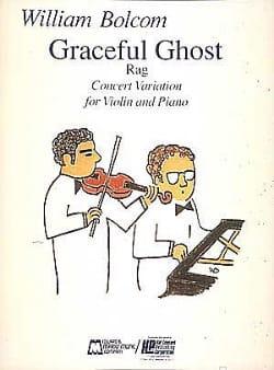 Graceful Ghost William Bolcom Partition Violon - laflutedepan