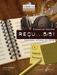 Reçu ...5/5 ! Volume 1A - Mélodie et Harmonie laflutedepan