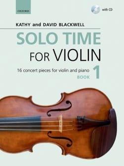 Solo Time for Violon 1 - Violon et piano Partition laflutedepan