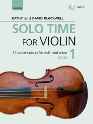Solo Time for Violon 1 - Violon et piano - laflutedepan.com