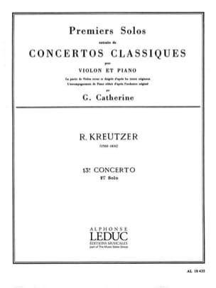 1er Solo du Concerto n° 13 Catherine laflutedepan