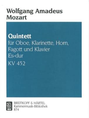 Quintett Es-Dur Kv 452 MOZART Partition Quintettes - laflutedepan