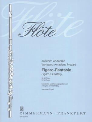 Figaro-Fantasie - 4 Flöten laflutedepan