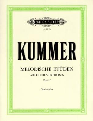 10 Melodische Etüden op. 57 Friedrich-August Kummer laflutedepan