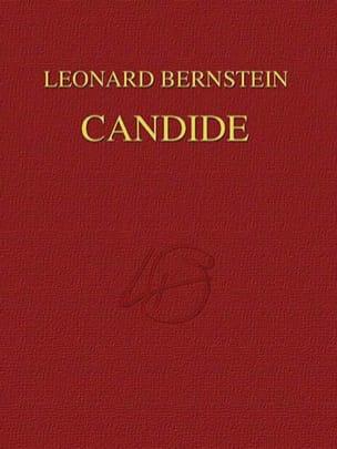Candide - Relié BERNSTEIN Partition Grand format - laflutedepan