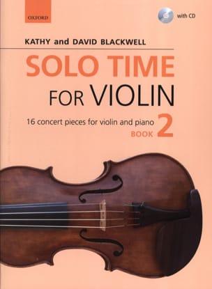 Solo Time for Violon 2 - Violon et piano Partition laflutedepan