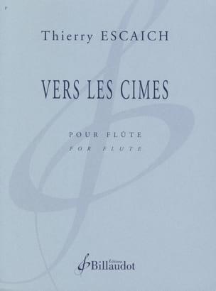 Vers les Cimes - Thierry Escaich - Partition - laflutedepan.com