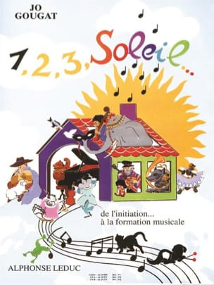 1, 2, 3, Soleil - Volume 1 Jo Gougat Partition laflutedepan