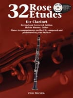 32 Etudes For Clarinet Cyrille Rose Partition laflutedepan