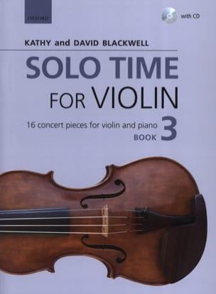 Solo Time for Violon 3 - Violon et piano Partition laflutedepan