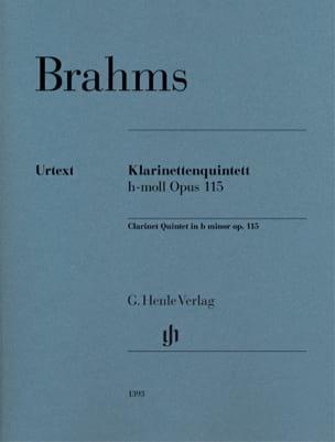 Quintette avec Clarinette, opus 115 BRAHMS Partition laflutedepan