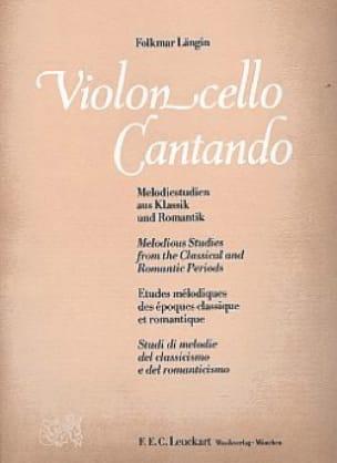 Violoncello Cantando - Folkmar Längin - Partition - laflutedepan.com