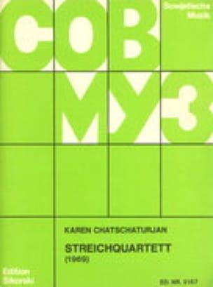 Streichquartett 1969 -Stimmen - laflutedepan.com