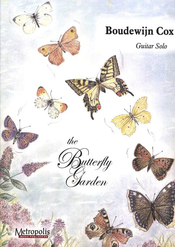 The Butterfly Garden - Cox Boudewijn - Partition - laflutedepan.com