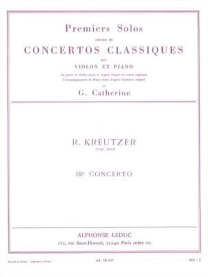 1er Solo du Concerto n° 19 Catherine laflutedepan