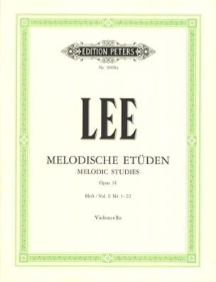 Melodische Etüden op. 31 - Volume 1 Sebastian Lee laflutedepan
