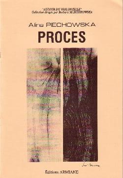 Procès Alina Piechowska Partition Violoncelle - laflutedepan