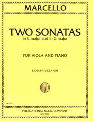 2 Sonatas in C Major and in G Major Benedetto Marcello laflutedepan