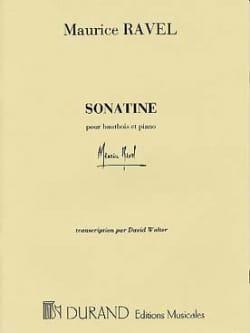 Sonatine - hautbois et piano RAVEL Partition Hautbois - laflutedepan