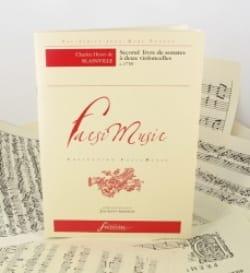 Second Livre De Sonates A 2 Violoncelles laflutedepan