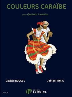 Couleurs Caraïbe Valérie / Littorie Joël Rousse Partition laflutedepan