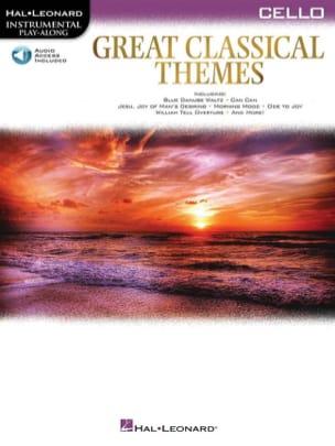 Great Classical Themes - Violoncelle Partition laflutedepan